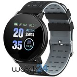 Smartwatch Generic cu Bluetooth, monitorizare ritm cardiac, notificari, functii fitness S178